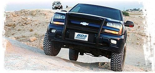 Bds Suspension 2 Lift Kit For 2002 2009 Chevrolet Gmc