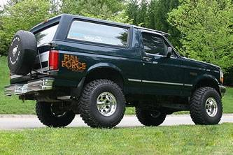 F on 1996 Bronco Lifted