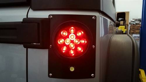 Complete Led Tail Light Conversion Kit Flush Mount 4