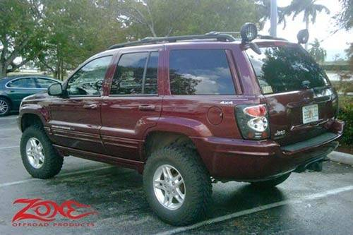 zone offroad 4 lift kit system for 99 04 jeep grand cherokee wj j17 zone offroad 4 lift kit system for 99