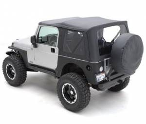 Rear Corner / Quarter Panel Armor - Jeep Wrangler YJ 87-95