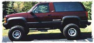 S-10 Series 4WD - 1988-1994 S-10 Blazer/S-15 Jimmy