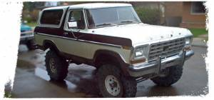 Bronco 4WD - 1978-1979 Full Size