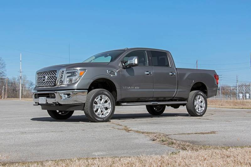 4 Inch Leveling Kit >> Rough Country 2IN NISSAN LEVELING LIFT KIT (16-17 TITAN XD Diesel 4WD) - 868