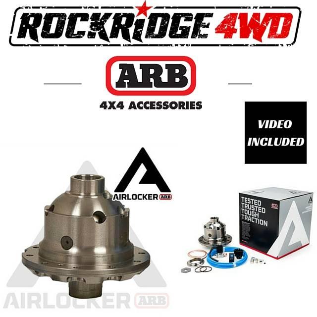 Arb Air Locker Nissan H233b 31 Spline All Ratios Rd136