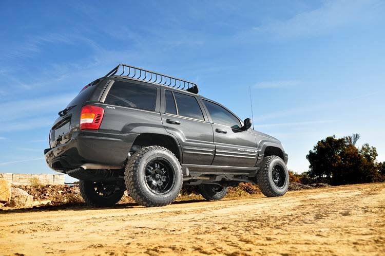 Rough Country 99 04 Jeep WJ Grand Cherokee 4 Long Arm