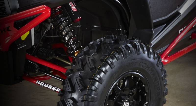 front - elka suspension stage 5 shocks for honda pioneer 1000