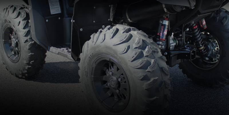 rear - elka suspension stage 5 shocks for honda pioneer 1000