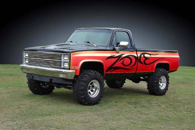 """Zone Offroad 4"""" Suspension Lift System for 73-87 Chevy ..."""