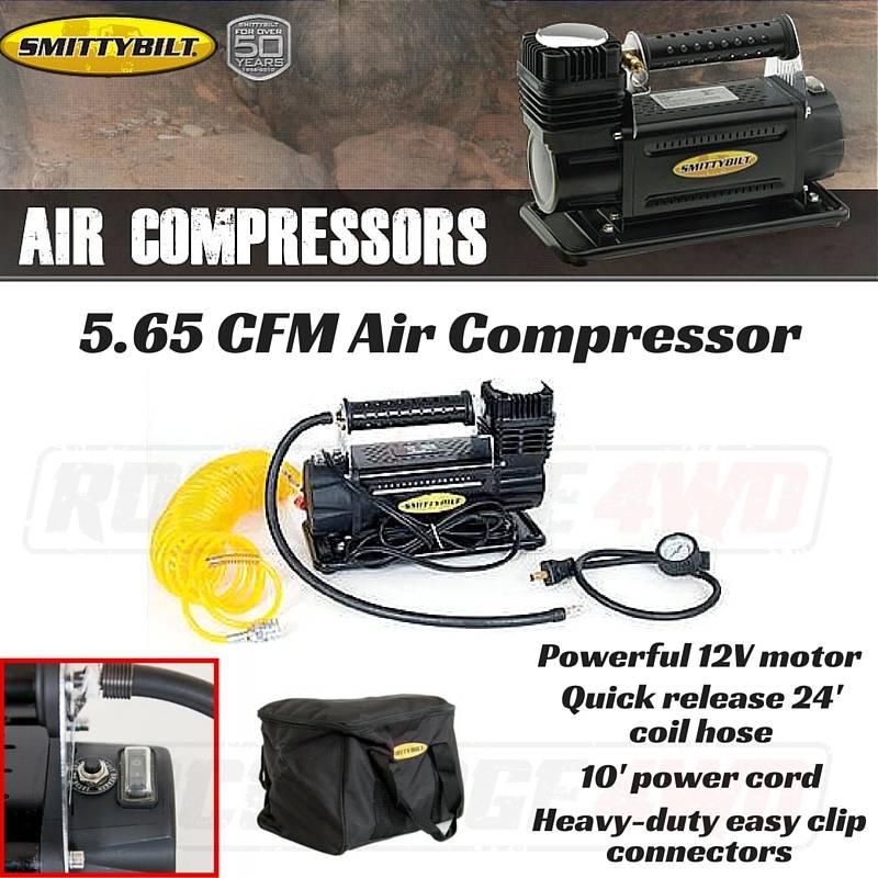 Air Compressor High Performance 5 65 Cfm/160 Lpm Smittybilt