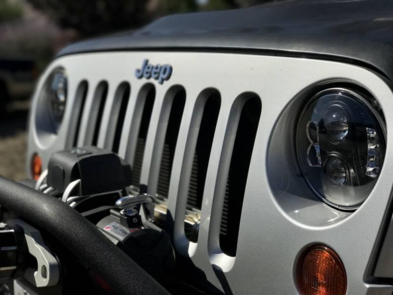 Jeep Wrangler Interior >> Pro Comp Explorer Lighting 7 Inch Round LED Headlamp ...