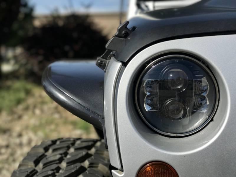 Pro Comp Explorer Lighting 7 Inch Round Led Headlamp