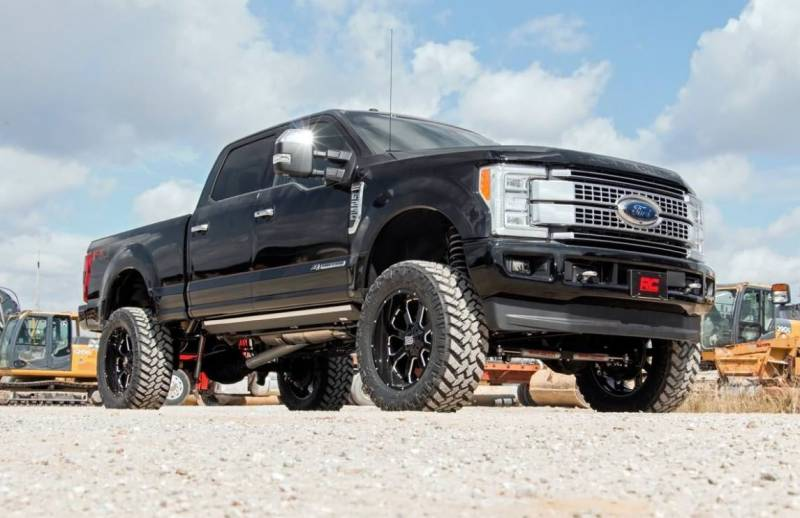 rough country 6in ford 4-link suspension lift kit (17-19 f-250