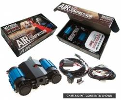 ARB 4x4 Accessories - ARB ON-BOARD HIGH PERFORMANCE 12 VOLT TWIN AIR COMPRESSOR