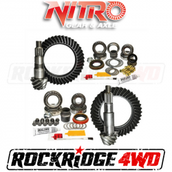 Nitro Gear & Axle - NITRO GEAR PACKAGE FOR 2007-Newer Jeep Wrangler (Non-Rubicon), CHOOSE RATIO   - GPJKNONRUB