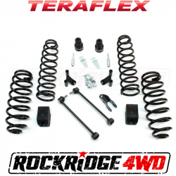 "TeraFlex - TeraFlex Jeep Wrangler JK 2.5"" Lift Kit Spring Box w/ Shock Extensions *Choose Model* - 1352002-1352000"