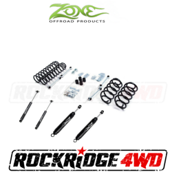"Zone Offroad - Zone Offroad 3"" Jeep Wrangler TJ, LJ & Rubicon 97-06 Suspension System By Zone Offroad - J2N / J3N"