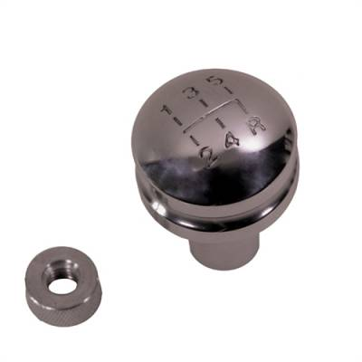 Rugged Ridge - BILLET SHIFT KNOB WITH 5-SPEED SHIFT PATTERN, MOST 80-86 CJ, 87-95 YJ AND SOME 97-98 TJ Wrangler  -11420.22