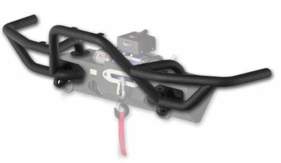 Rugged Ridge - Mount Front XHD Bumper Textured Black JK 07-15, 76-06 CJ & YJ TJ Wrangler -11540.18
