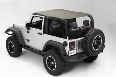 Rugged Ridge - Island Top Khaki JK 2Dr Wrangler 10-18   -13591.36
