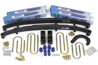 "BDS Suspension - BDS Suspension 4"" Lift Kit for 1977 - 1987 GM 4WD K20 / K25 3/4 ton Suburban and Pickup Truck   -124H"