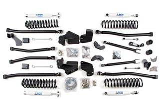 "BDS Suspension - BDS Suspension 4.5"" Long Arm 4-Link Lift Kit for 2007-2018 Jeep Wrangler JK Unlimited 4 door - Rubicon and Standard - 1407H"
