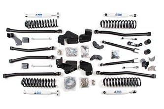 "BDS Suspension - BDS Suspension 4"" Long Arm 4-Link Lift Kit for 2012-18 Jeep Wrangler JK 2 Door - Rubicon and Standard - 419H"