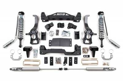 """BDS Suspension - BDS Suspension 6"""" Coil-Over Suspension Lift Kit for 2014 Ford F150 2WD pickup trucks - 1505F"""