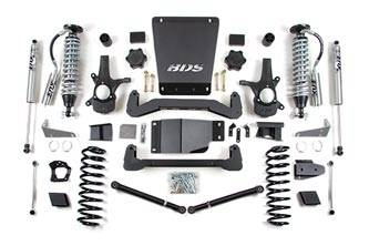 """BDS Suspension - BDS Suspension 6"""" Coil-Over Suspension Lift Kit for 2007 - 2014 Chevrolet/GMC 4WD 1500 Series Avalanche, Suburban, Tahoe, Yukon, and Yukon XL 1500 1/2 ton SUV's - 178F"""