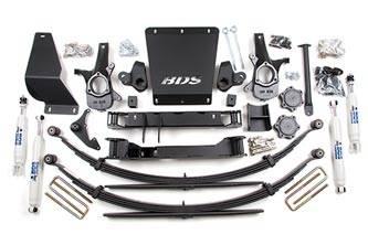 "BDS Suspension - BDS Suspension 6-1/2"" Lift Kit for 1999 - 2006 Chevrolet/GMC 4WD Silverado/Sierra 1500 1/2 ton pickup truck - 179H"