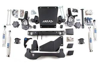 "BDS Suspension - BDS Suspension 4-1/2"" Lift Kit for 2000 - 2006 Chevrolet/GMC 4WD Avalanche, Suburban, Tahoe, Yukon, and Yukon XL, Escalade AWD, 1500 1/2 ton SUVs -191H"