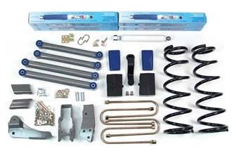 """BDS Suspension - BDS Suspension 6"""" Lift Kit for 2006 - 2007 Dodge Ram 1500 1/2 Ton Mega-Cab - 226H"""