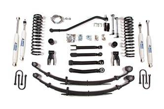 """BDS Suspension - BDS Suspension 4-1/2"""" Short Arm Lift Kit for 1984 - 2001 Jeep Cherokee XJ  -434H"""