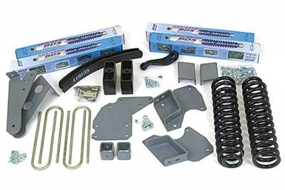 """BDS Suspension - BDS Suspension 4"""" Lift kit for 1982-1991 Ford Bronco II 4WD  -517H"""