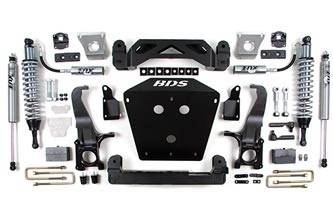 """BDS Suspension - BDS Suspension 7"""" Coil-over Suspension Lift kit for the 2007 - 2015 Toyota Tundra 2WD & 4WD Pickups- 813F"""