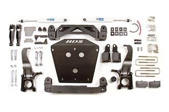 """BDS Suspension - BDS Suspension 4-1/2"""" lift kit for the 2007 - 2015 Toyota Tundra 2WD & 4WD - 814H"""