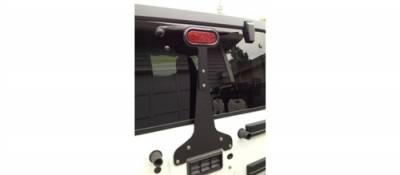 GraBars - 3rd Brake Light Bracket - Adjustable with LED Light fits 87-15 Jeep Wrangler YJ, TJ and JK