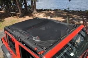 GEARSHADE - FullShade Jeep Wrangler JKU 4 Door 07-15 GearShade Pocket Top -FSJKU