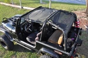GEARSHADE - FullShade Jeep Wranlger YJ 87-95 GearShade Pocket Top -FSYJ