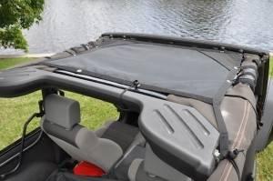 GEARSHADE - HalfShade Jeep Wrangler JK 2 Door 07-15 GearShade Pocket Top -HSJK