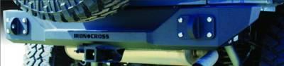 IRON CROSS - IRON CROSS Rear Stubby Bumper for Jeep Wrangler JK 07-18 - GP-2000