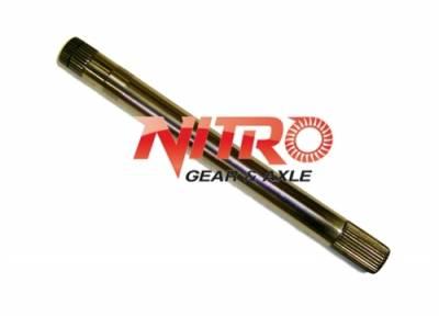 "Nitro Gear & Axle - 1991-1997 Land Cruiser FJ80 FZJ80 RH Inner Axle Shaft 4340 Chromoly (Short Side) 17 3/4"" by Nitro Gear & Axle - AXTFJ80-RH"