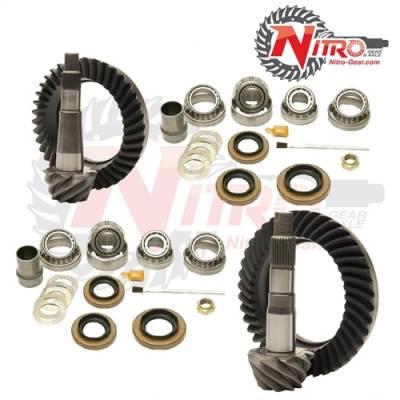 Nitro Gear & Axle - Nitro Front & Rear Gear Package Kit 1999-2008 GM 1500 & Suburban, (Choose Ratio)