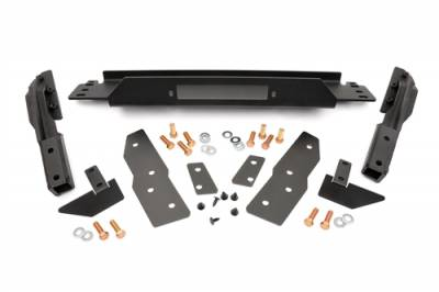Rough Country - Rough Country 99-04 Jeep WJ Grand Cherokee Winch Mounting Plate- 1064