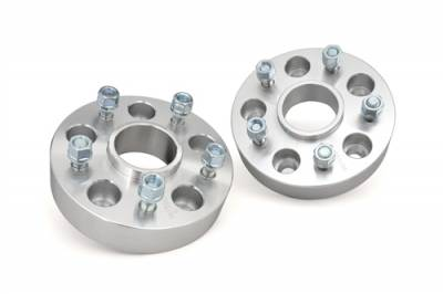 """Rough Country - Rough Country Jeep 1.5"""" Wheel Spacers 5x5.0 fits 07-14 JK JKU & 99-10 Grand Cherokee- 1091"""