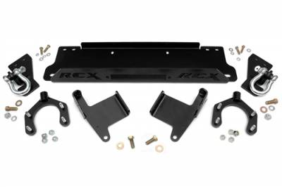Rough Country - Rough Country 2007-2018 Jeep JK Factory Bumper Winch Mounting Plate - 1162