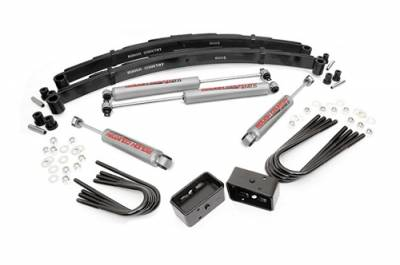 """Rough Country - Rough Country 1977-1987 Chevy / GMC 4wd 1500 Pickup / SUV 2"""" Suspension Lift Kit - 135.20"""