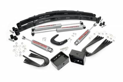 "Rough Country - Rough Country 4"" Suspension Lift Kit for Chevy/GMC 1977-1991 2500 Pickup/Suburban - 150.20"