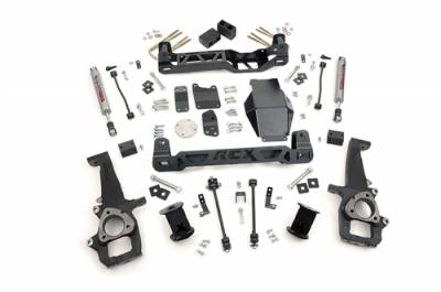 """Rough Country - Rough Country 2006-2008 Dodge Ram 4WD 1500 6"""" Suspension Lift Kit - 327S"""