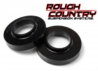 """Rough Country - Rough Country 2007-2018 Jeep Wrangler JK/JKU 0.75"""" Leveling Spacers Suspension Lift - 7597"""